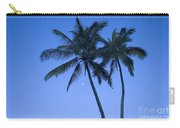 Palms And Blue Sky Carry-all Pouch