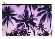 Palms And Purple Sky Carry-all Pouch