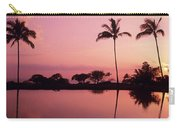 Palms At Still Lagoon Carry-all Pouch