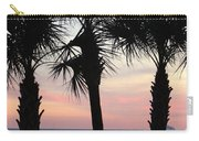 Palms At Sunset  Carry-all Pouch