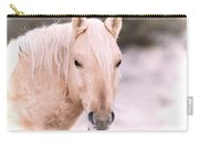 Palomino In The Snow Carry-all Pouch