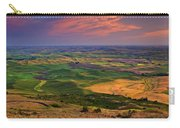 Palouse Skies Ablaze Carry-all Pouch