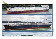 Panama Canal Cargo Ships Carry-all Pouch