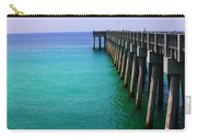 Panama City Beach Pier Carry-all Pouch by Toni Hopper