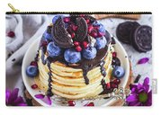 Pancakes With Chocolate Sauce Carry-all Pouch