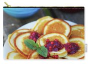 Pancakes With Cranberry Jam Carry-all Pouch