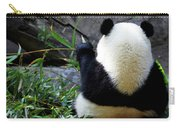Panda Bear Eating Bamboo Carry-all Pouch