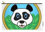 Panda Bear Head Carry-all Pouch