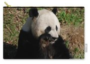 Panda Bear Snacking On A Bamboo Shoot Carry-all Pouch