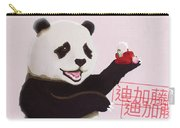 Panda Joy Pink Carry-all Pouch