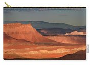 Panorama Dawn Light On The San Rafael Swell Utah Carry-all Pouch