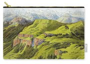 Panorama Drawn From The Rigi Mountain Carry-all Pouch
