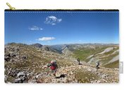 Panorama Looking Down Elk Creek From The Continental Divide - Weminuche Wilderness Carry-all Pouch