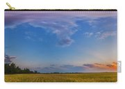 Panorama Of A Colorful Sunset Carry-all Pouch
