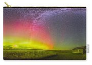 Panorama Of An Aurora And The Milky Way Carry-all Pouch