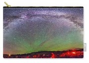 Panorama Of Milky Way Above The Table Carry-all Pouch