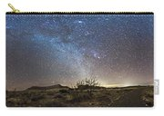 Panorama Of Milky Way And Zodiacal Carry-all Pouch