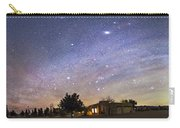 Panorama Of The Celestial Night Sky Carry-all Pouch
