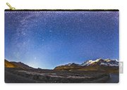 Panorama Of The Columbia Icefields Carry-all Pouch
