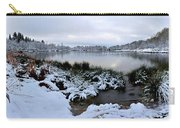 Panorama Of Winter Lake Carry-all Pouch