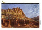 Panorama The Castle On A Cloudy Morning Capitol Reef National Park Carry-all Pouch