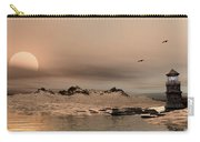 Panorama Winter Ocean Scene Carry-all Pouch