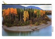 Panoramic Northern River Carry-all Pouch