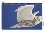 Panoramic Prairie Snowy Owl  Carry-all Pouch