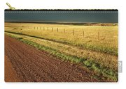 Panoramic Prairie Storm Canada At Sunset Carry-all Pouch