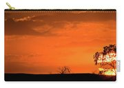 Panoramic Prairie Sunset Carry-all Pouch