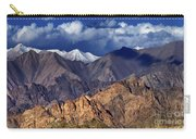 Panoramic Rocky Landscape Of Leh City Ladakh Jammu And Kashmir India Carry-all Pouch