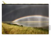 Panoramic Storm In The Marshes Carry-all Pouch