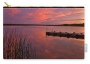 Panoramic Sunset Northern Lake Carry-all Pouch