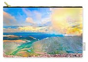 Panoramic Sunset On Mount Evans Carry-all Pouch