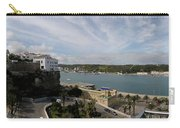 panoramic town 1  - Panorama of Mahon Menorca with old town and harbour Carry-all Pouch