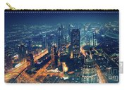 Panoramic View Of Dubai City Carry-all Pouch