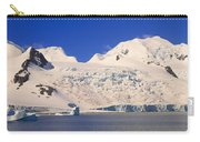 Panoramic View Of Glaciers And Iceberg Carry-all Pouch