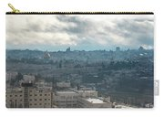 Panoramic View Of Old Jerusalem City Carry-all Pouch