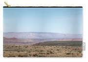 Panoramic View Of Open Desert Field In Nevada With Grand Canyon  Carry-all Pouch
