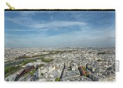 Panoramic View Of Paris From The Top Of The Tower Carry-all Pouch