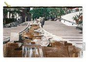 Panoramic View Of Stairs And Waterfall Carry-all Pouch