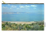 Panoramic View Of The Sea Of Galilee Carry-all Pouch