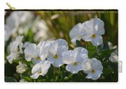 Pansies 15-02 Carry-all Pouch