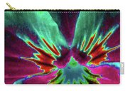 Pansy 01 - Photopower - Thoughts Of You Carry-all Pouch