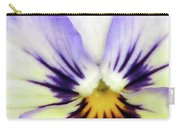 Pansy 01 - Thoughts Of You Carry-all Pouch