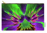 Pansy 02 - Photopower - Thoughts Of You Carry-all Pouch