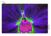 Pansy 05 - Photopower - Thoughts Of You Carry-all Pouch