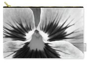 Pansy 06 Bw - Thoughts Of You Carry-all Pouch