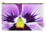 Pansy 07 - Thoughts Of You Carry-all Pouch