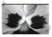 Pansy 09 Bw - Thoughts Of You Carry-all Pouch